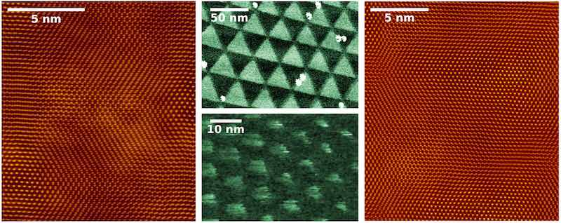 Nanopatterning electronic properties.