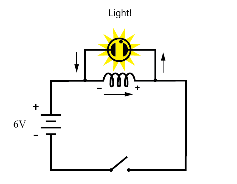 neon lamp circuit current