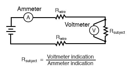 Kelvin (4-wire) Resistance Measurement | DC Metering Circuits ... on