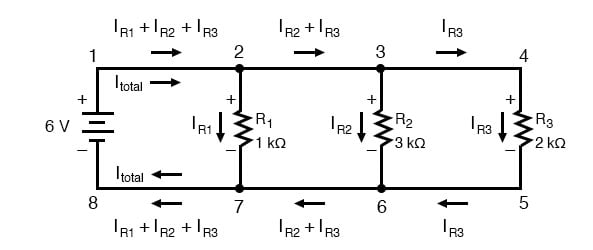 parallel circuit example 2