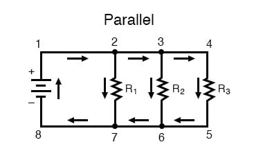 Fantastic What Are Series And Parallel Circuits Series And Parallel Wiring Digital Resources Indicompassionincorg