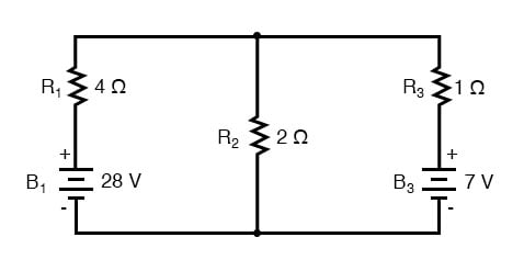 parallel network branches circuit