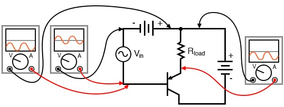 PNP version of the common-collector amplifier.