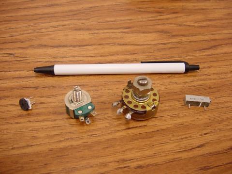potentiometer as resistor