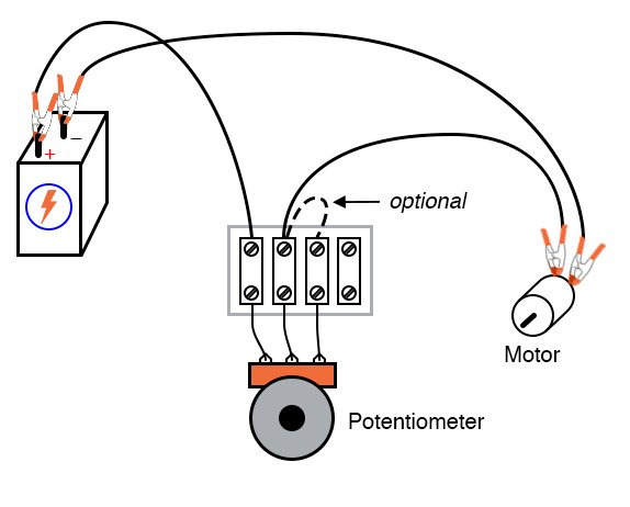 Potentiometer as a Rheostat | DC Circuits | Electronics TextbookAll About Circuits
