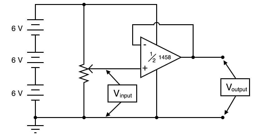 Precision Voltage Follower