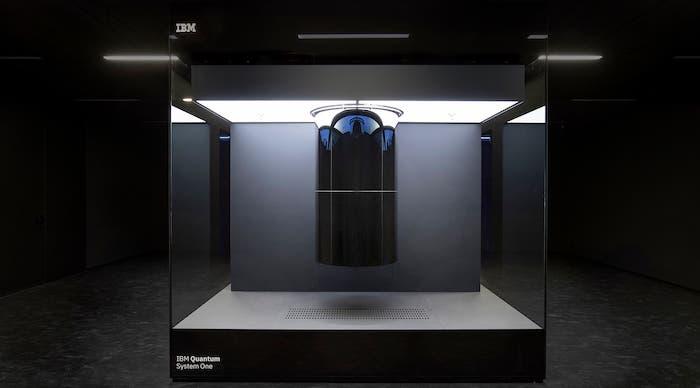 EU's first quantum computer: IBM's Quantum System One.
