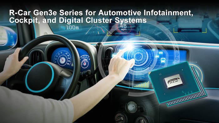 Cost-effective applications with the new R-Car Gen3e SoC.