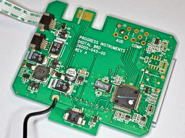 The Digital PCB with the TI MSP430F14