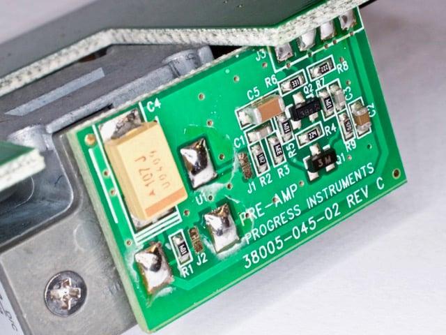 The Radar Pre-Amp PCB