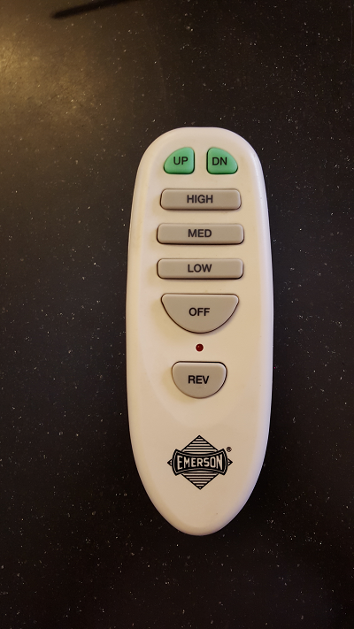 How to add bluetooth to a ceiling fan i opened the device and found a radio some buttons and some sort of microcontroller or encoder aloadofball Choice Image