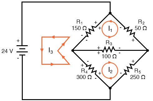 resistor voltage drop polarities