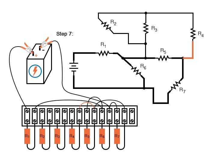Building Series-Parallel Resistor Circuits | Series-parallel