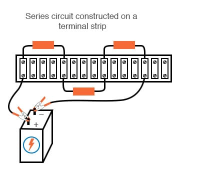 series circuit construction terminal-strip