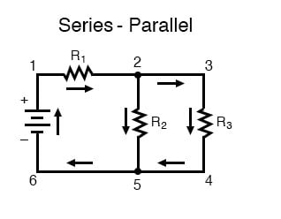schematic wiring diagram parallel wiring diagram work Series Parallel Battery Wiring Diagram