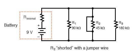 series parallel combination circuit