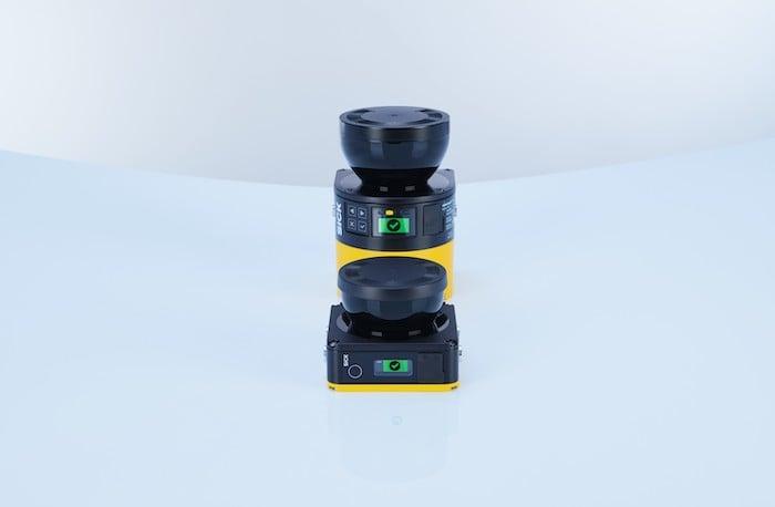The nanoScan3 is SICK AG's newest LiDAR scanner.