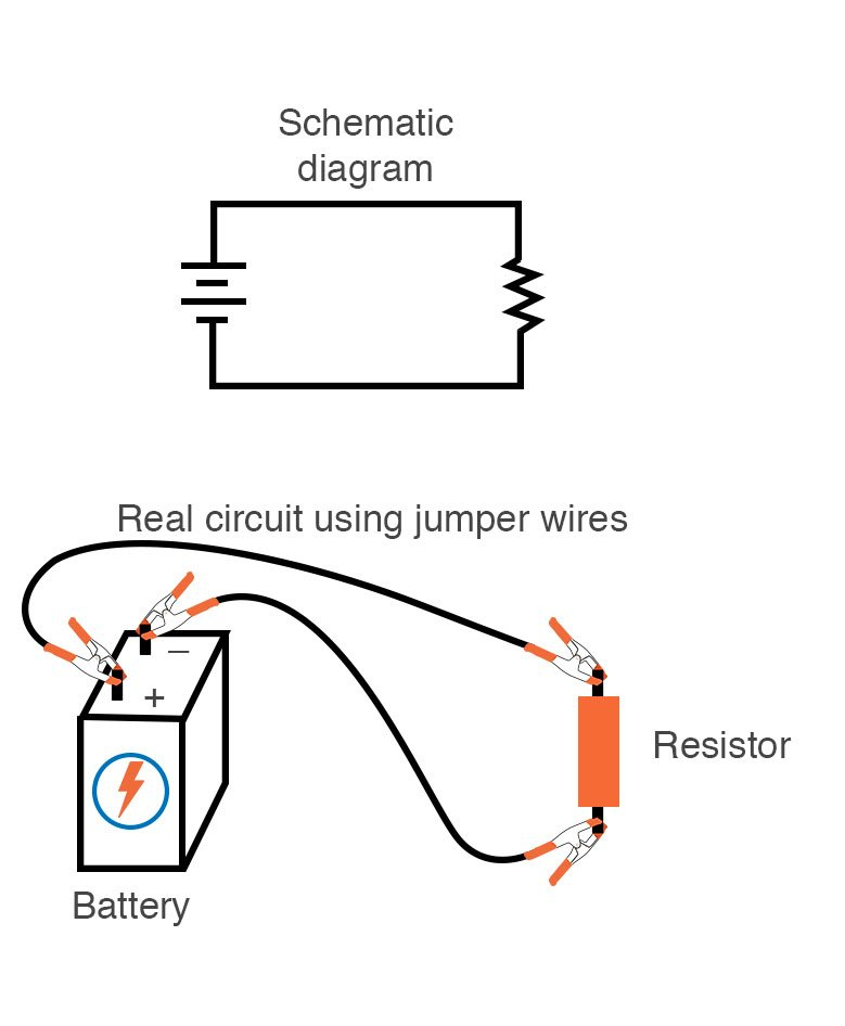 building simple resistor circuits  series and parallel