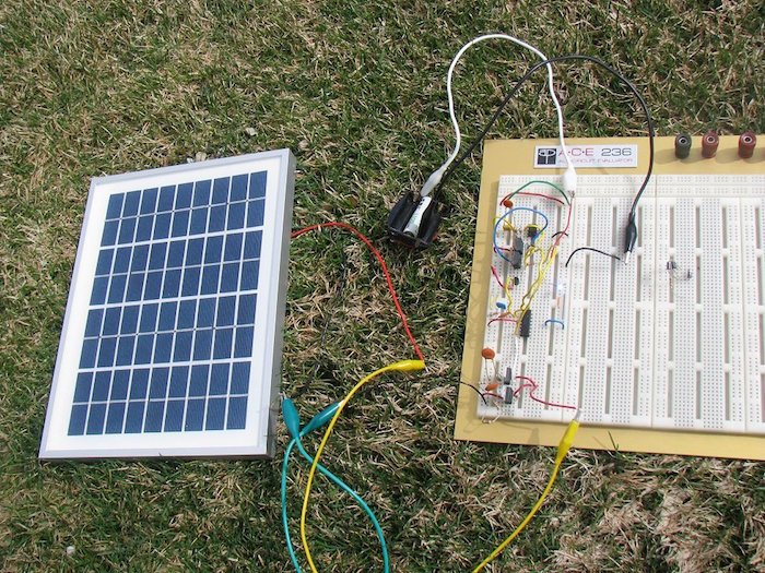 Solar Battery Charger on Car Battery Charger Circuit Diagram