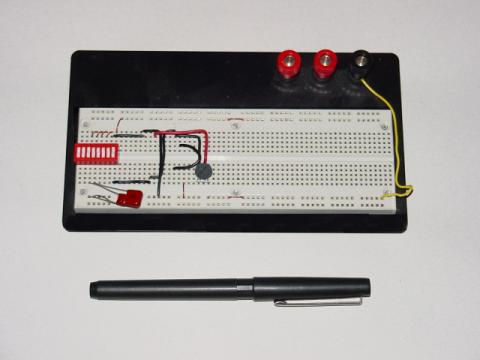 building simple resistor circuits series and parallel circuitsa photograph of a real breadboard is shown here, followed by an illustration showing a simple series circuit constructed on one