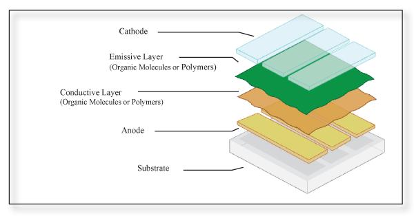 Organic light emitting diode panels