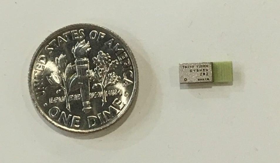 TAIYO YUDEN's EYSHSNZWZ: 'The World's Smallest Bluetooth Module' - News