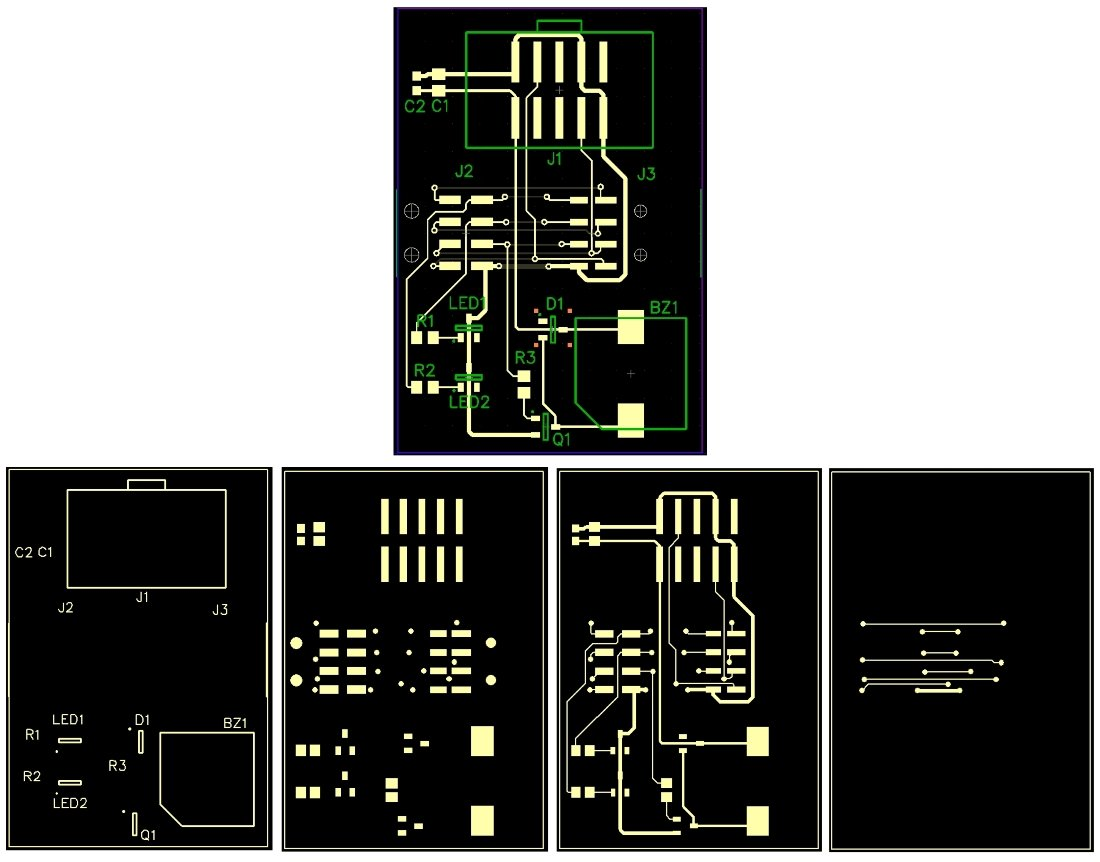 Guide To Pcb Design How Generate Manufacturing Files For Custom Electronic Circuit With Layout Click Enlarge
