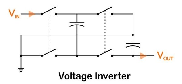 boosting and inverting without inductors  charge