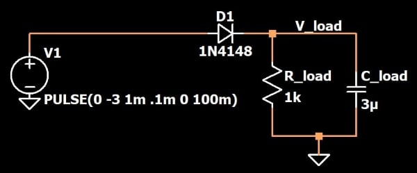 Led Diode Polarity Protection Diode Circuit