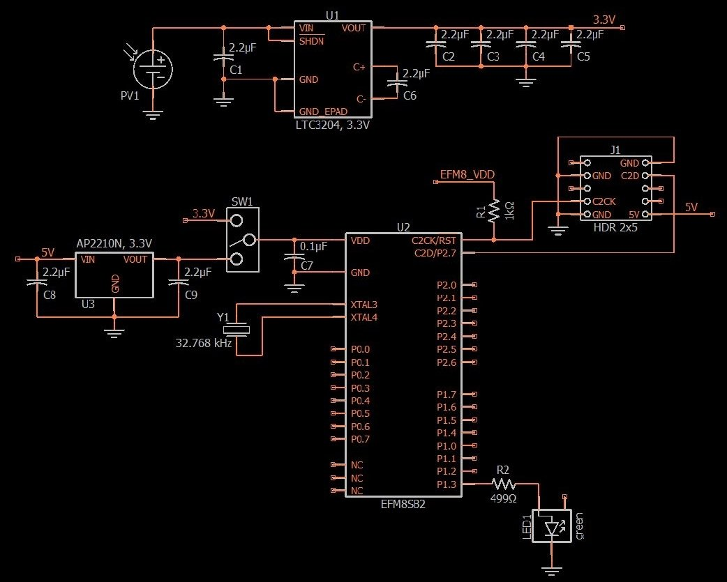 Schematic Design For A Solar Powered Charge Pump Power Supply Circuit It Take To Fully With The Panel 3 Click Enlarge