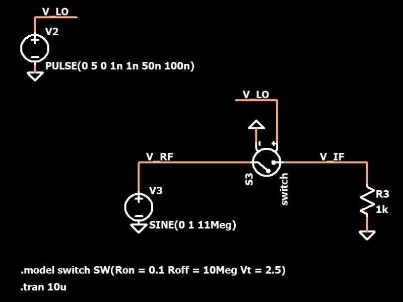 How to Multiply RF Signals without a Multiplier: The ... H T Mixer Wiring Diagram on