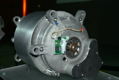 The Figure Below Is Roadster Motor Up Close Out Of Automobile
