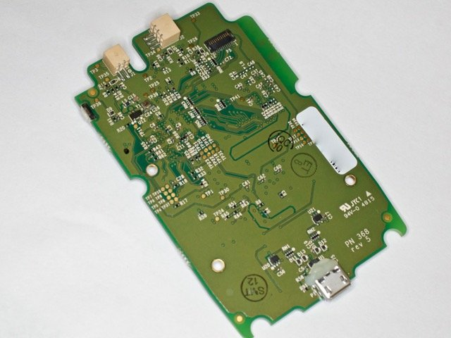 Rear of the PCB