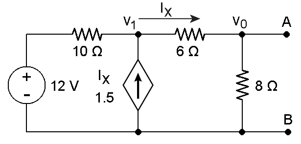 learn about thevenin theorem and dependent source circuits