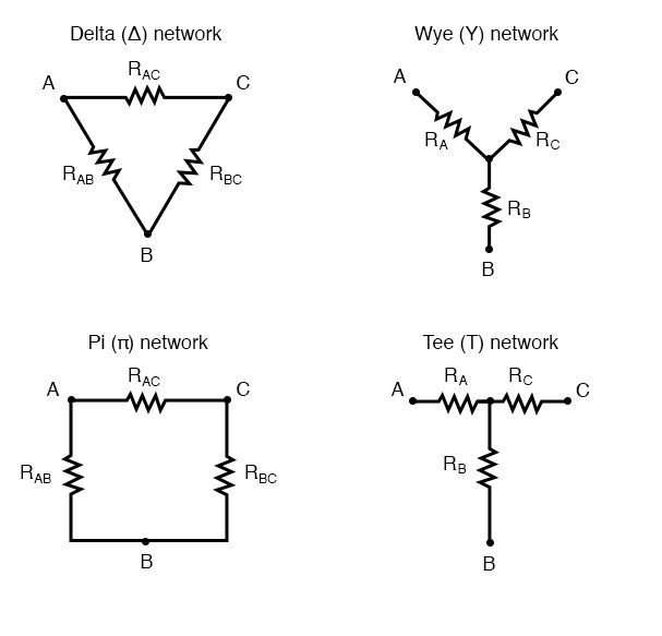 Δ-Y and Y-Δ Conversions | DC Network Analysis | Electronics