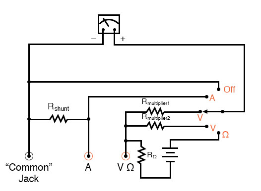 Astounding For Lowresistance Measurements Circuit Diagram Tradeoficcom Basic Wiring 101 Cajosaxxcnl