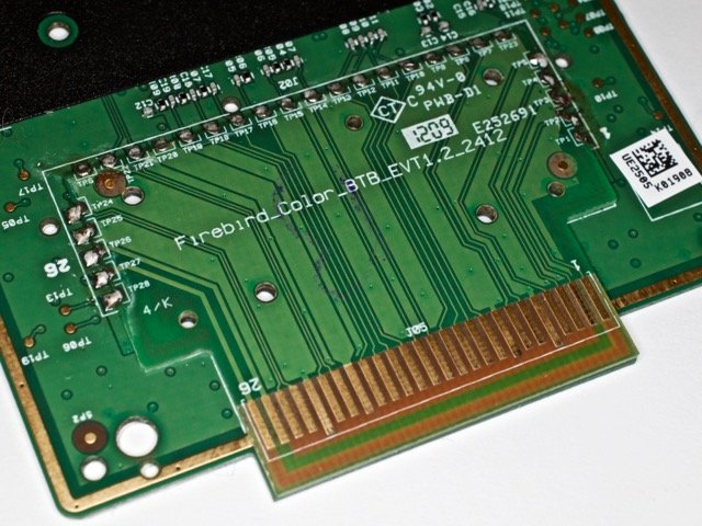 The Dock Connector PCB