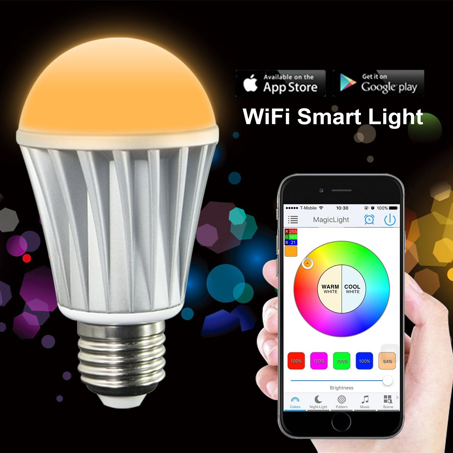 teardown tuesday wi fi connected led bulb news. Black Bedroom Furniture Sets. Home Design Ideas