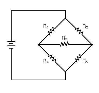 unbalanced bridge circuit