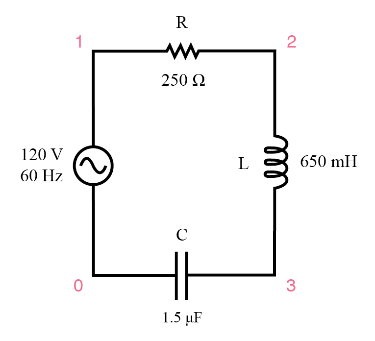 use spice to verify figures for the circuit