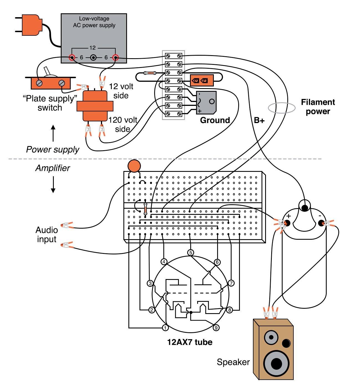 Vacuum Tube Audio Amplifier
