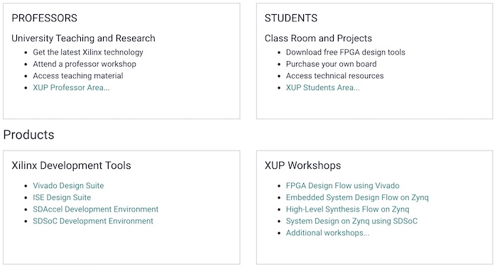 An overview of XUP's free programs.