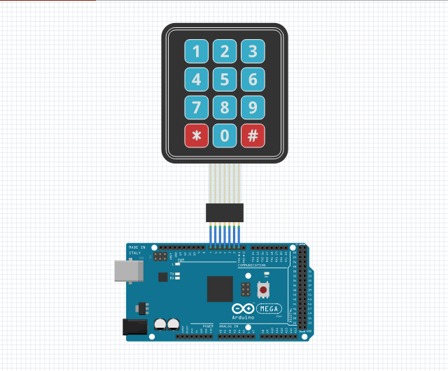 Download library keypad 3x4 arduino