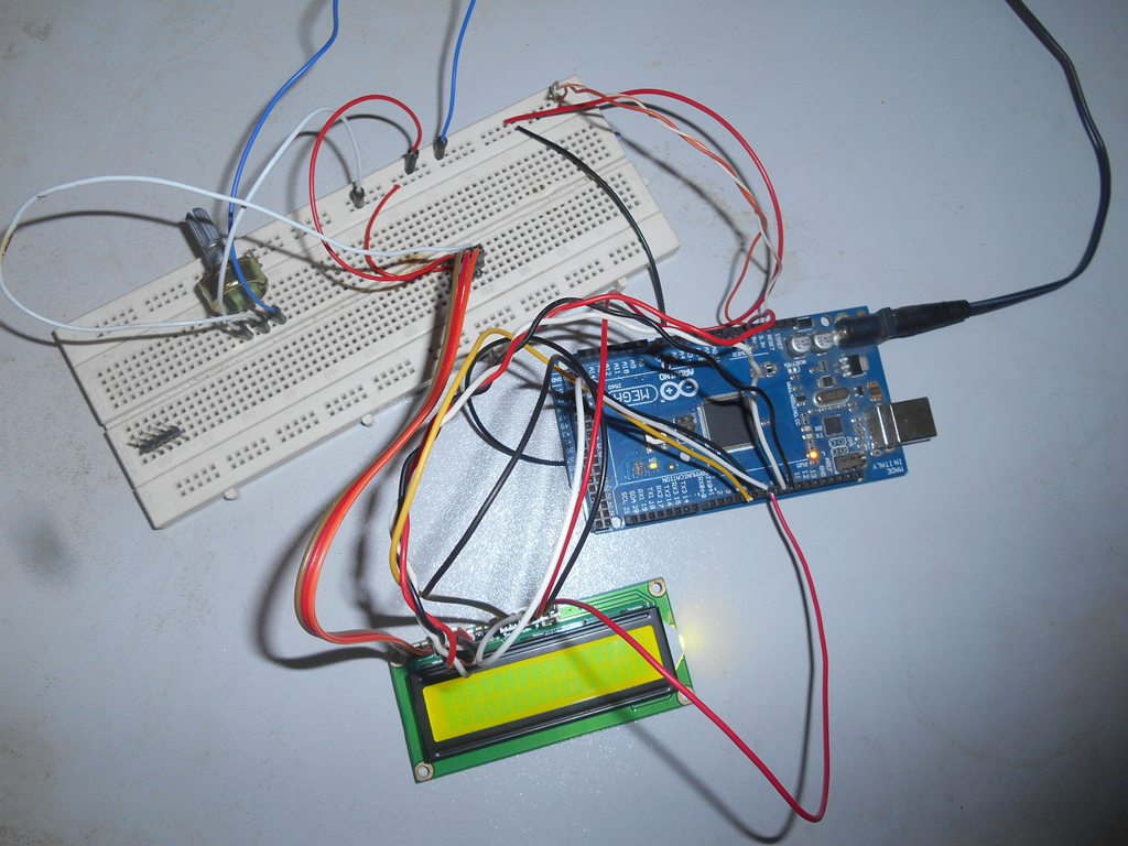 Interface An Lcd With Arduino Electronics Projects Circuit Diagram