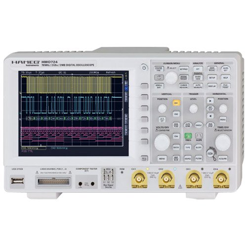 Oscilloscope Pulse Measurement : Hameg hmo specs manuals buy