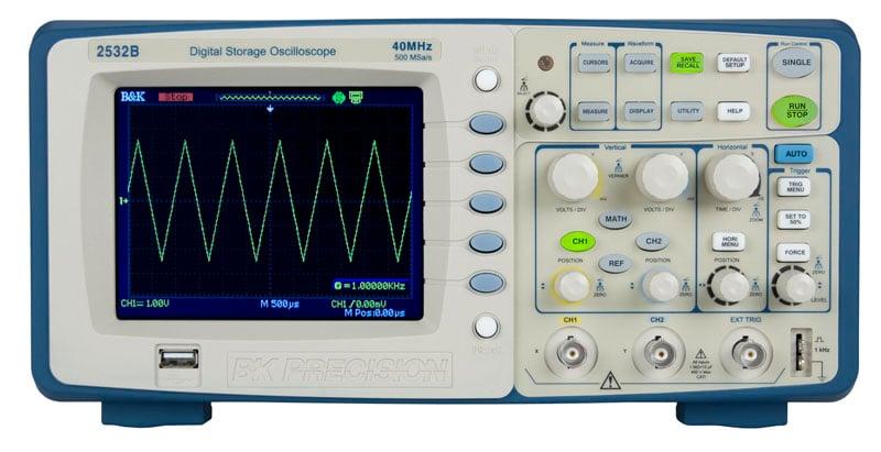 Oscilloscope Image Of B : B user manual oscilloscope from k precision