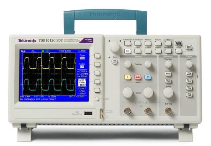 Tds1012c Edu User Manual Tds1012c Edu Oscilloscope From