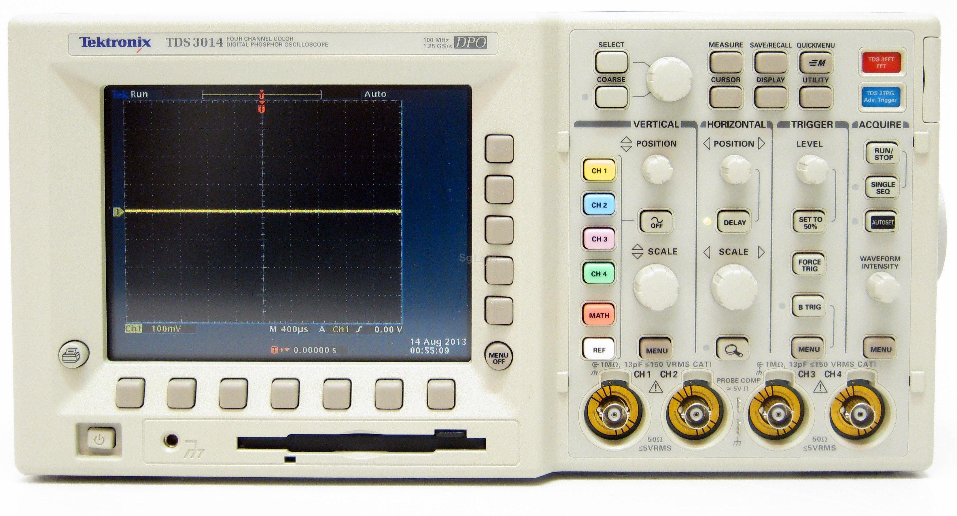 Pro Tek Oscilloscope : Tds service manual oscilloscope from tektronix