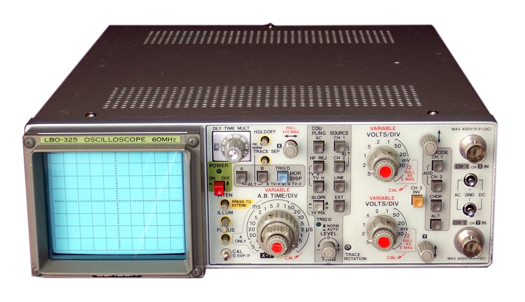 Oscilloscope Pulse Measurement : Leader lbo specs manuals buy