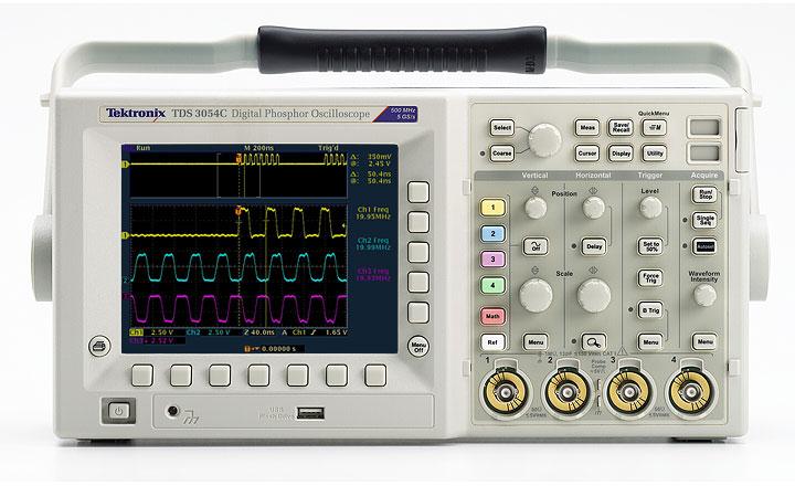 Pro Tek Oscilloscope : Tds c user manual oscilloscope from tektronix